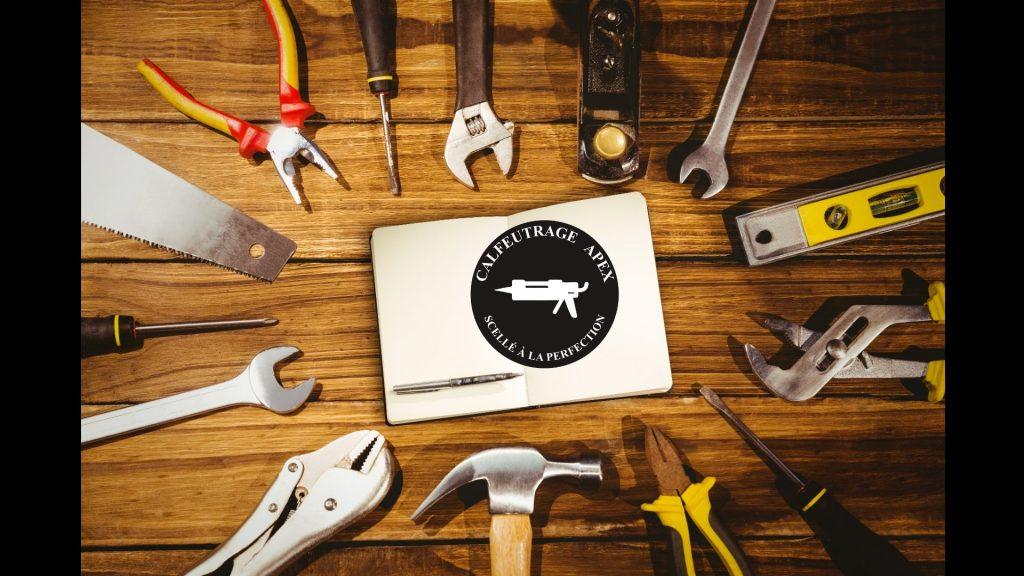 Outils pour le calfeutrage: Conseils et guide | Calfeutrage Apex