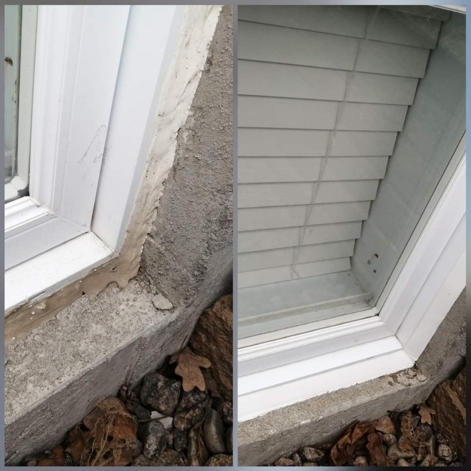 calfeutrage Apex before and after