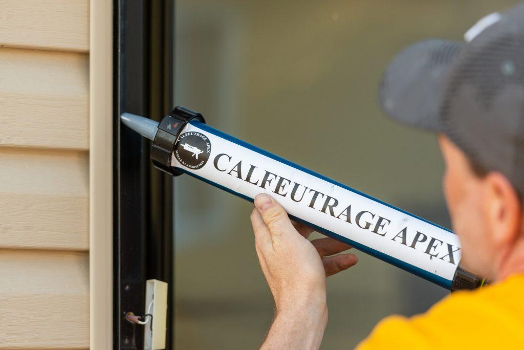 Votre spécialiste en calfeutrage sur la Rive Sud-Calfeutrage Apex | Calfeutrage Apex