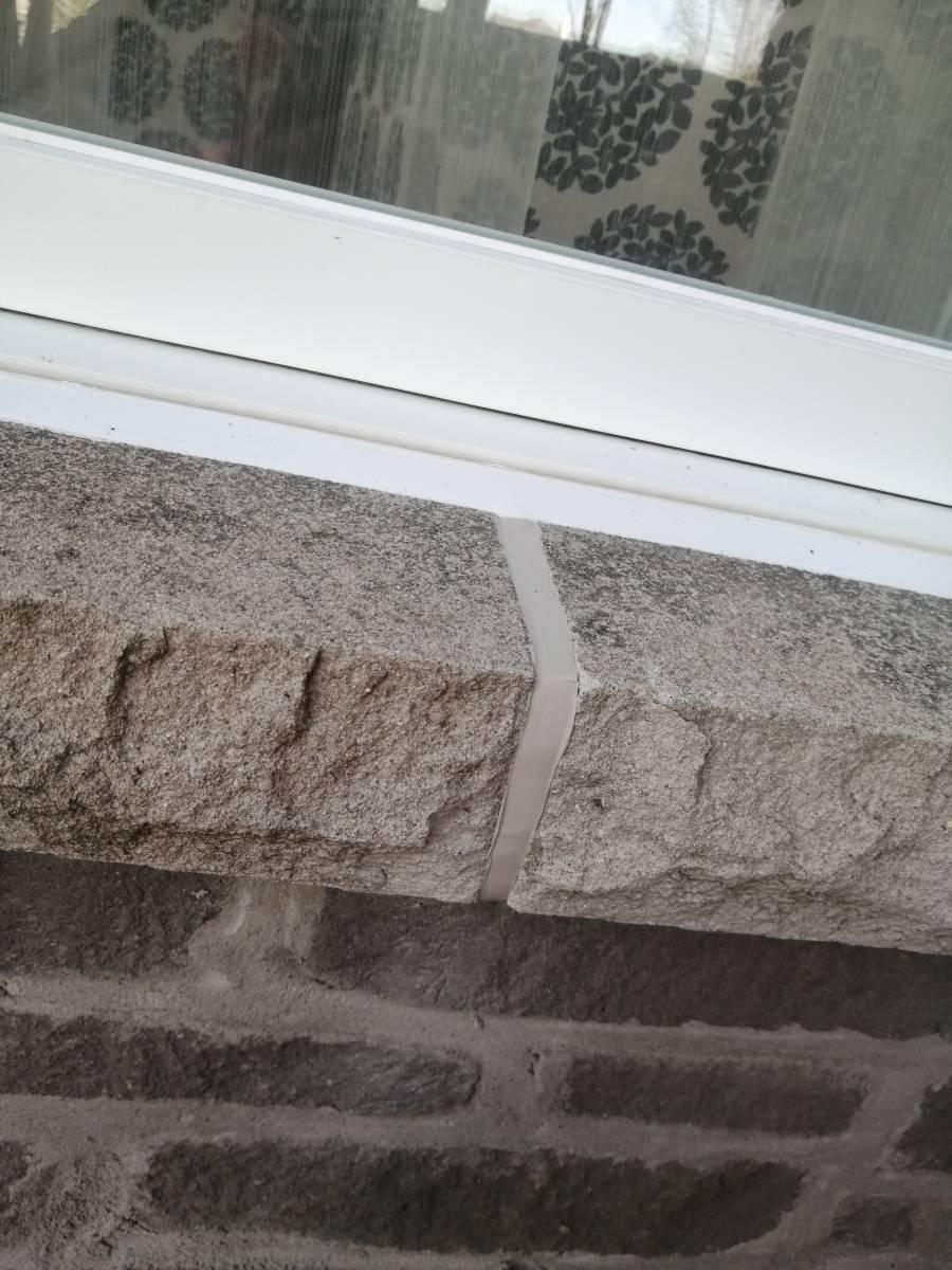 allège de fenêtre calfeutrage Apex rive sud